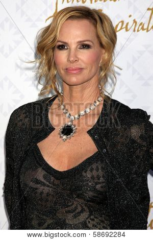 Janet Jones Gretzky at the 10th Alfred Mann Foundation Gala, Robinson-May Lot, Beverly Hills, CA 10-13-13