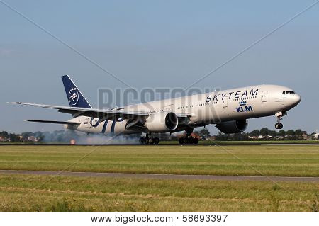 Royal Dutch Airlines In Sky Team Livery