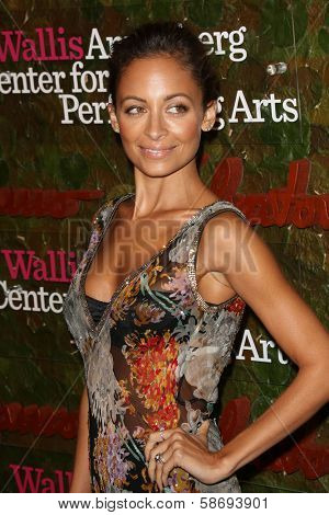 Nicole Richie at the Wallis Annenberg Center For The Performing Arts Inaugural Gala, Wallis Annenberg Center For The Performing Arts, Beverly Hills, CA 10-17-13