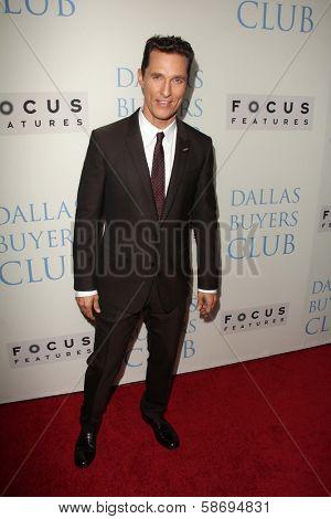 Matthew McConaughey at the