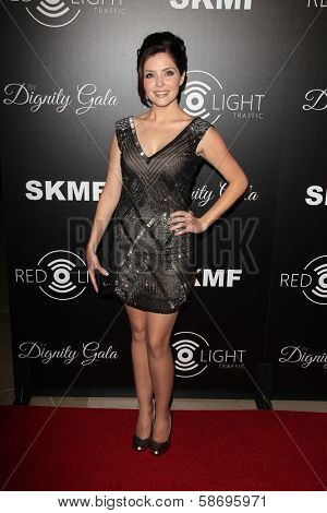 Jen Lilley Dignity Gala and Launch of Redlight Traffic App, Beverly Hilton Hotel, Beverly Hills, CA 10-18-13