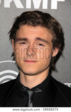 Callan McAuliffe Dignity Gala and Launch of Redlight Traffic App, Beverly Hilton Hotel, Beverly Hills, CA 10-18-13