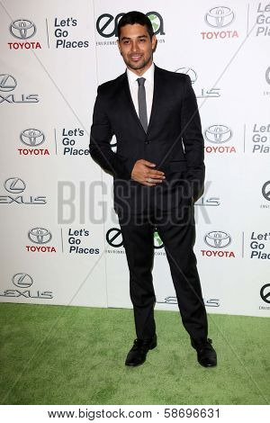 Wilmer Valderrama at the 23rd Annual Environmental Media Awards, Warner Brothers Studios, Burbank, CA 10-19-13