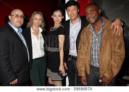 Armen Michael, Christy Oldham, Gary C. Hwang, Angel Huang and Jeremy Pierce at the