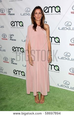 Anna Getty at the 23rd Annual Environmental Media Awards, Warner Brothers Studios, Burbank, CA 10-19-13