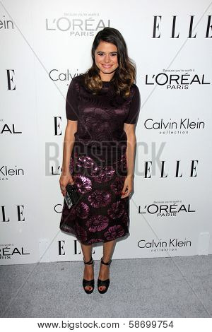 Melonie Diaz at the Elle 20th Annual