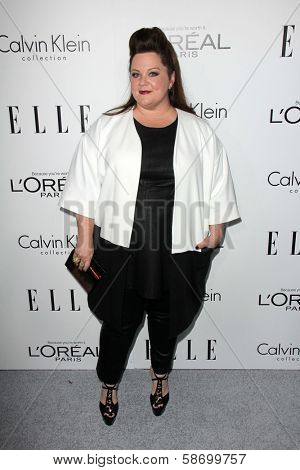 Melissa McCarthy at the Elle 20th Annual