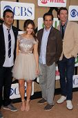 Kal Penn, Rebecca Breeds, Tony Shalhoub and Jerry O'Connell at the CBS, Showtime, CW 2013 TCA Summer