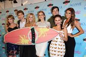 Ashley Benson, Shay Mitchell, Troian Bellisario, Sasha Pieterse, Janel Parrish and Keegan Allen at t