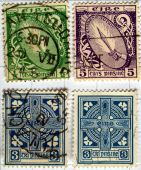 Stamps from Ireland