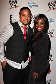 Jimmy Uso and Naomi at Superstars for Hope honoring Make-A-Wish, Beverly Hills Hotel, Beverly Hills,