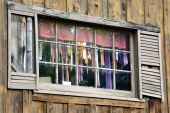 Weathered Window poster