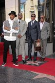 Usher, Sean Combs, Kenny 'Babyface' Edmonds and Antonio M. 'L.A.' Reid at the Kenny