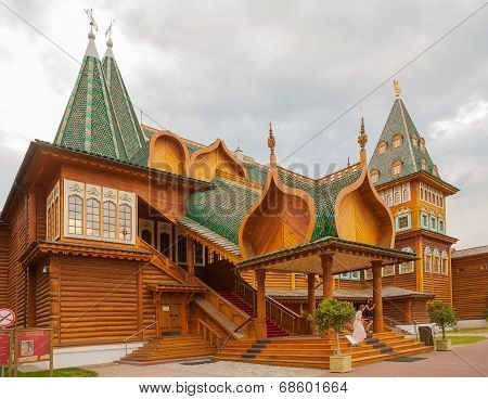 Wooden Palace Of Russian Tsar Alexey Mikhailovich