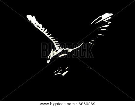 Wood eagle
