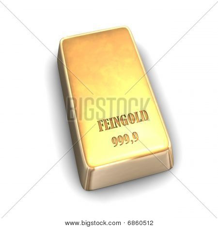 feinen gold bar