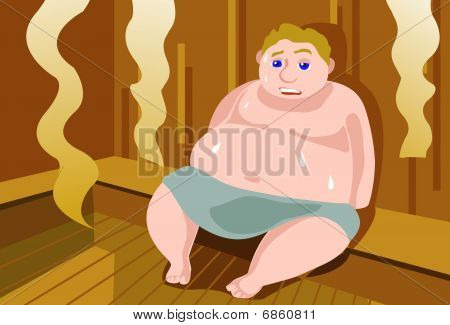 Sauna For Sweating Out The Fat