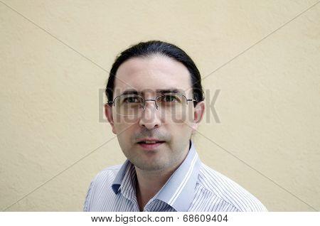 Portrait Of A Confident Caucasian Man