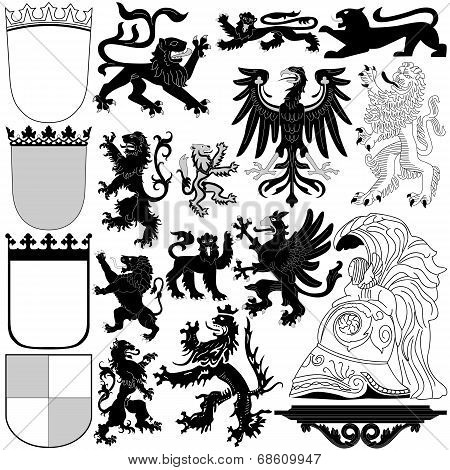 Heraldic Royal Elements