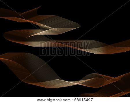 Abstract brown shapes