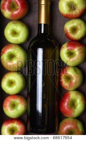 White Wine And Apples