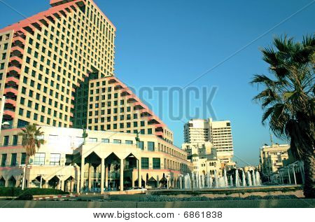 A beautiful hotel and business center