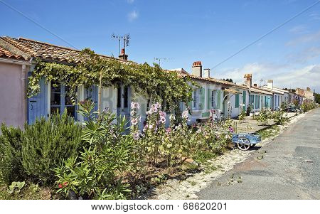 Aix Island In Charente-maritime, France