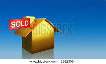 Investment Gold House Sold Sky