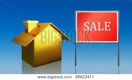 Gold House Sky Sale
