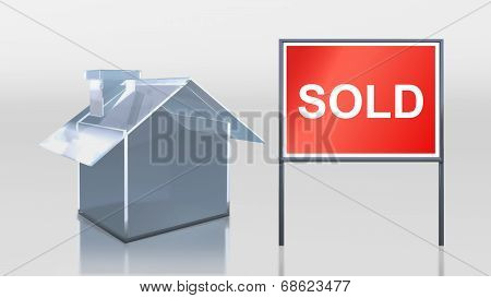Investment Glass House Sold