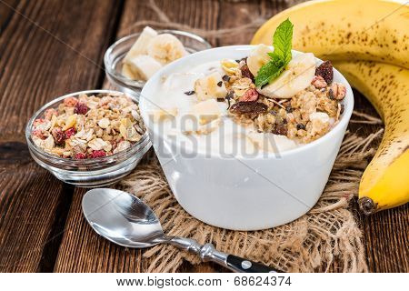 Fresh Made Banana Yogurt