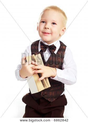 Boy With A Dictionary