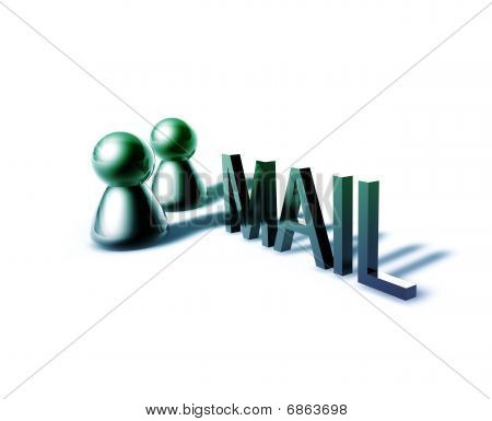 Mail Word Graphic
