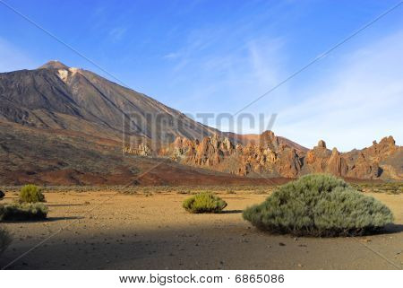 Teide volcano in Tenerife is the third largest in the world