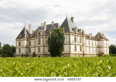 Cormartin Castle In Burgundy, France