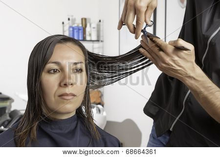 Cut At The Hairdresser
