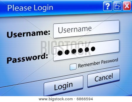 Computer Web Signin User Security