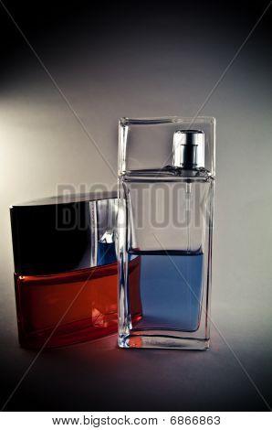 perfume with shadows