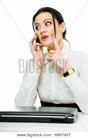 Busy Businesswoman