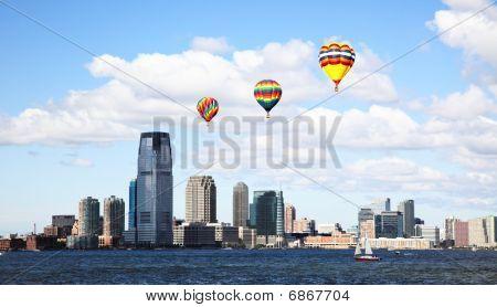 The Jersey City Skylines