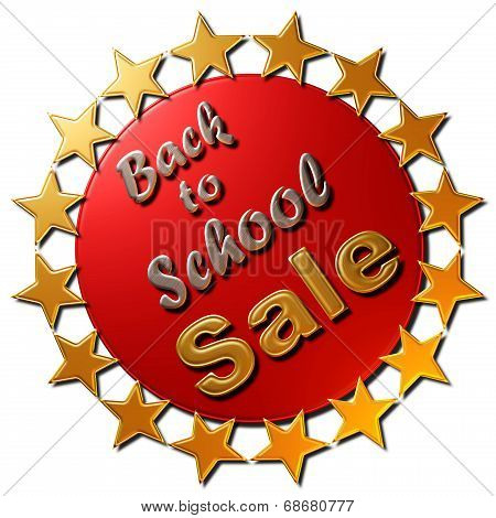 Back to School Sale (Stars)