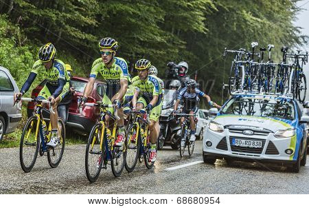 Team Tinkoff - Saxo And Alberto Contador In Pain