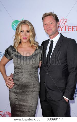 LOS ANGELES - JUL 19:  Christina Applegate, Martyn LeNoble at the 4th Annual Celebration of Dance Gala at Dorothy Chandler Pavilion on July 19, 2014 in Los Angeles, CA