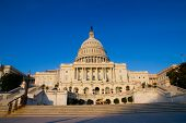 foto of neo-classic  - The United States Capitol is the capitol building that serves as the seat of government for the United States Congress - JPG
