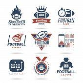 Football Icon Set - 2 poster