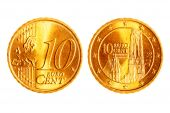 Ten Euro Cents Coins
