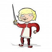 picture of musket  - cartoon musketeer - JPG