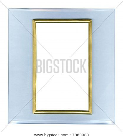Glass Frame Isolated