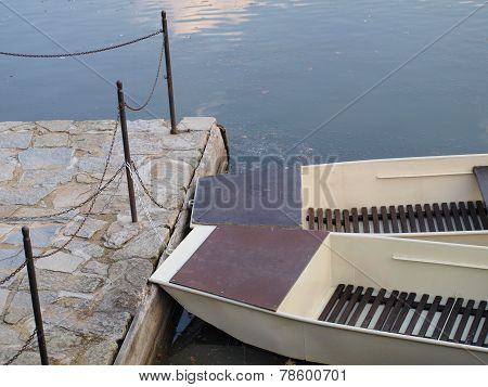 Small Boats In The Marina, South Bohemia