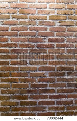 Wall Of Brown Bricks Background